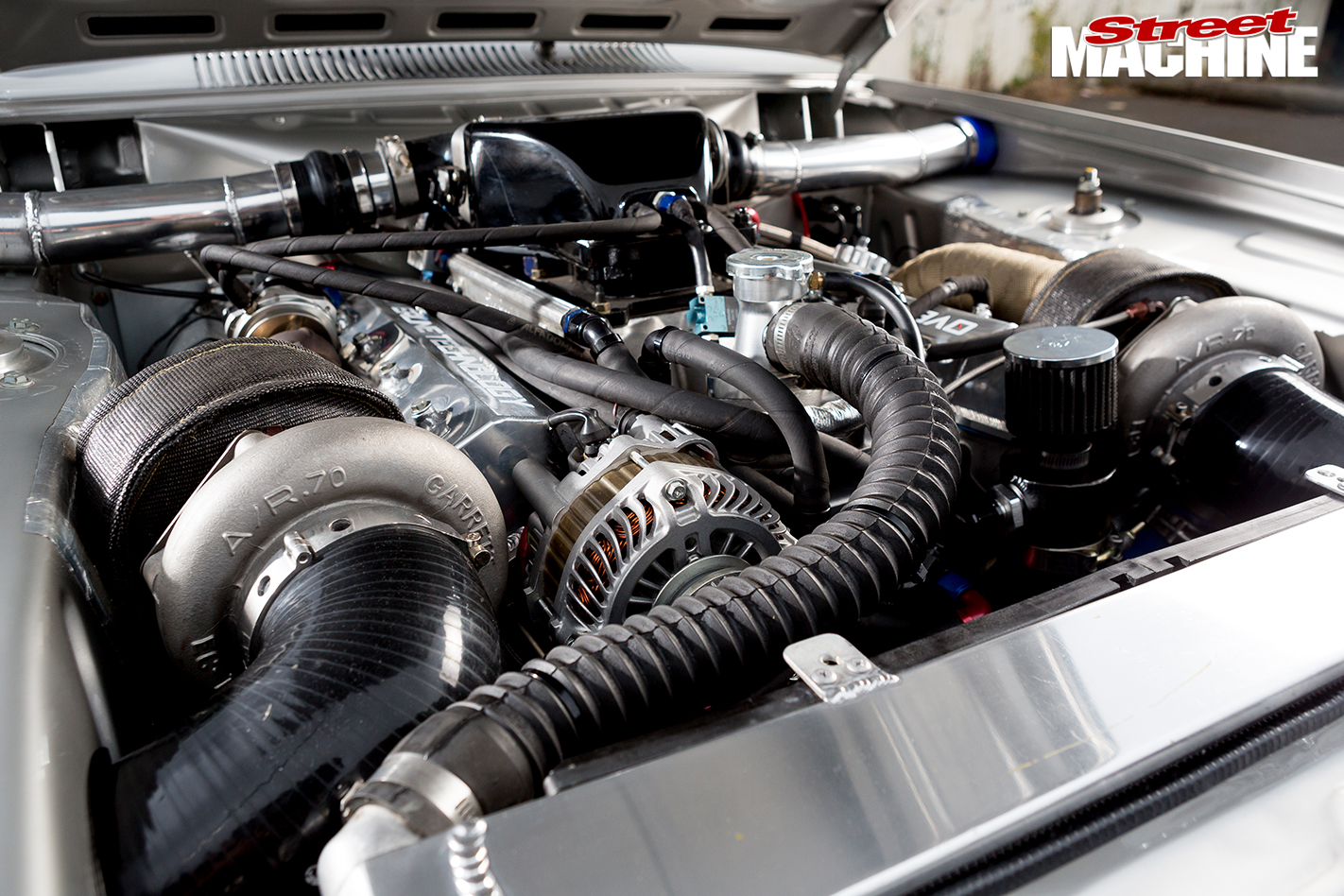 Ford -Capri -engine -detail -3
