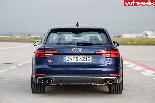 Audi -S4-wagon -rear