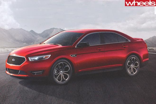 Ford -Taurus -side