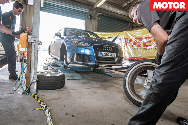 Audi rs3 tyres