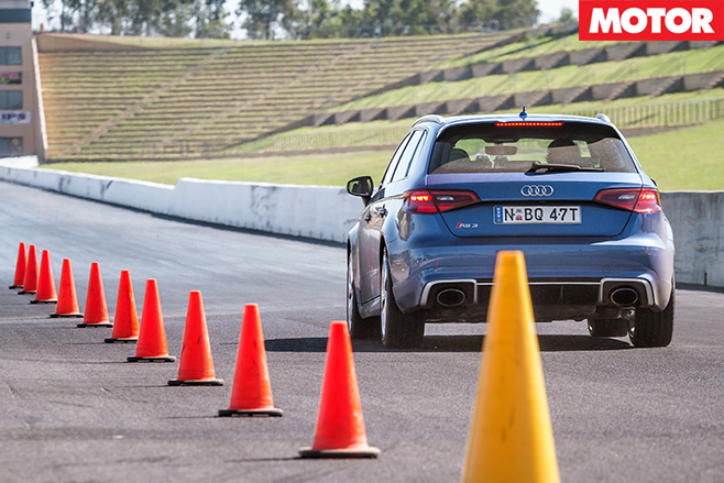 Audi rs3 rear