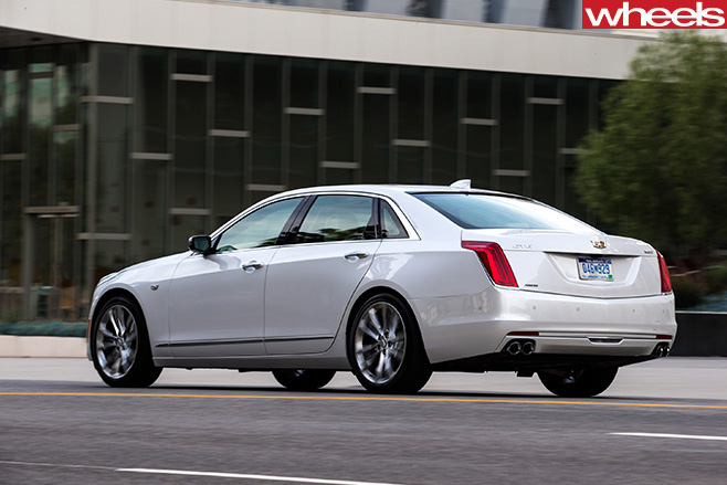 Cadillac -CT6-rear -side
