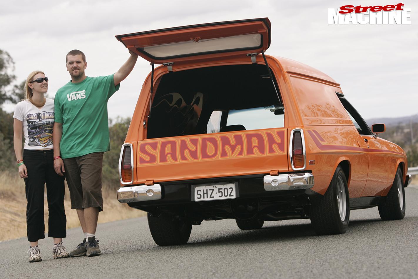 Holden -HZ-Sandman -Shane -Carly -Dale