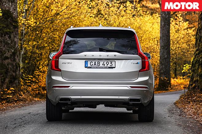 Volvo -XC90-T8-Polestar -rear