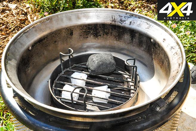 Coal fire cooker