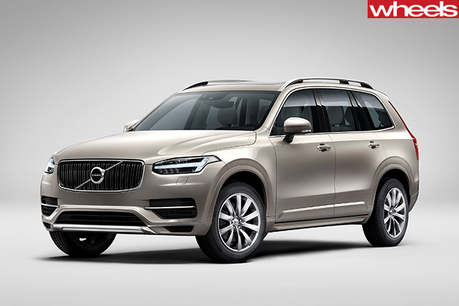 Volvo -XC90-front -side