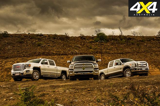 American pik-up trucks