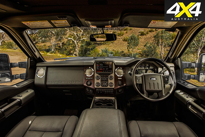 Ford f-250 interior