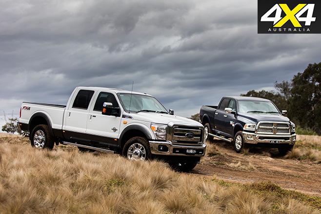 Ford v ram