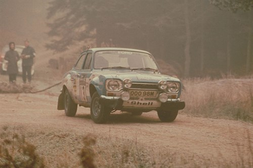 Ford -Escort -RS1600-rallying