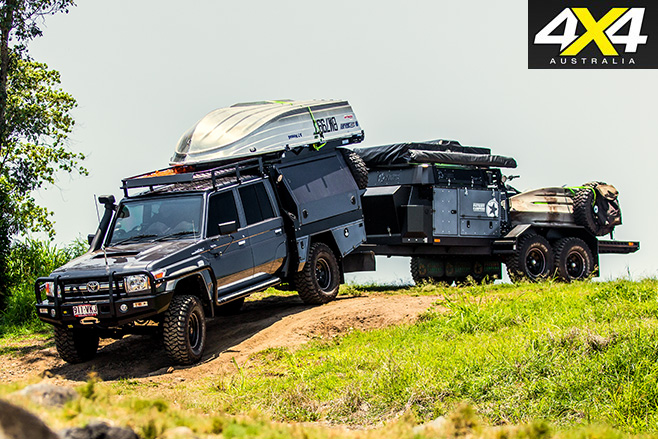 Norms 79 landcruiser with c&ertrailer : off road canopies - memphite.com