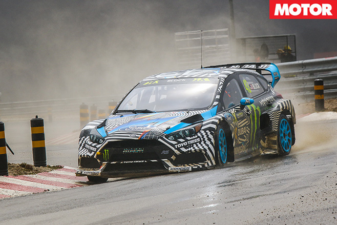 Ford Focus RS RX racing