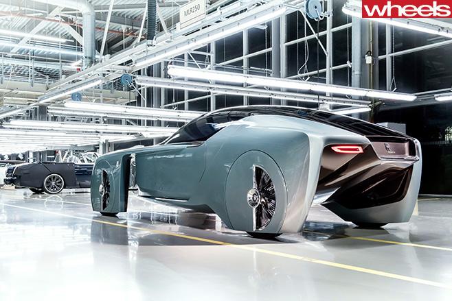 Rolls -Royce -concept -side -rear