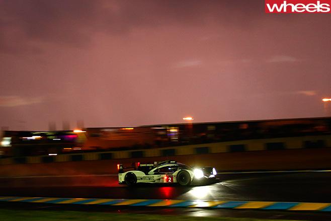 Porsche Le Mans car