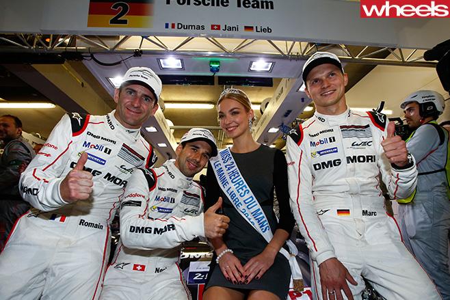 Porsche -racing -team