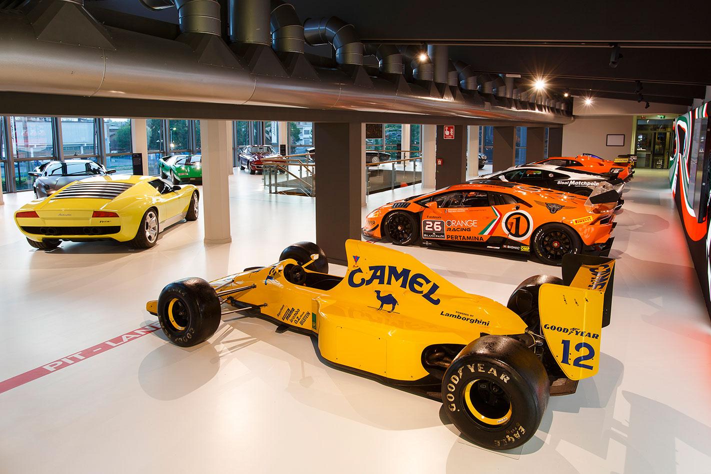 Lamborghini -racing -cars