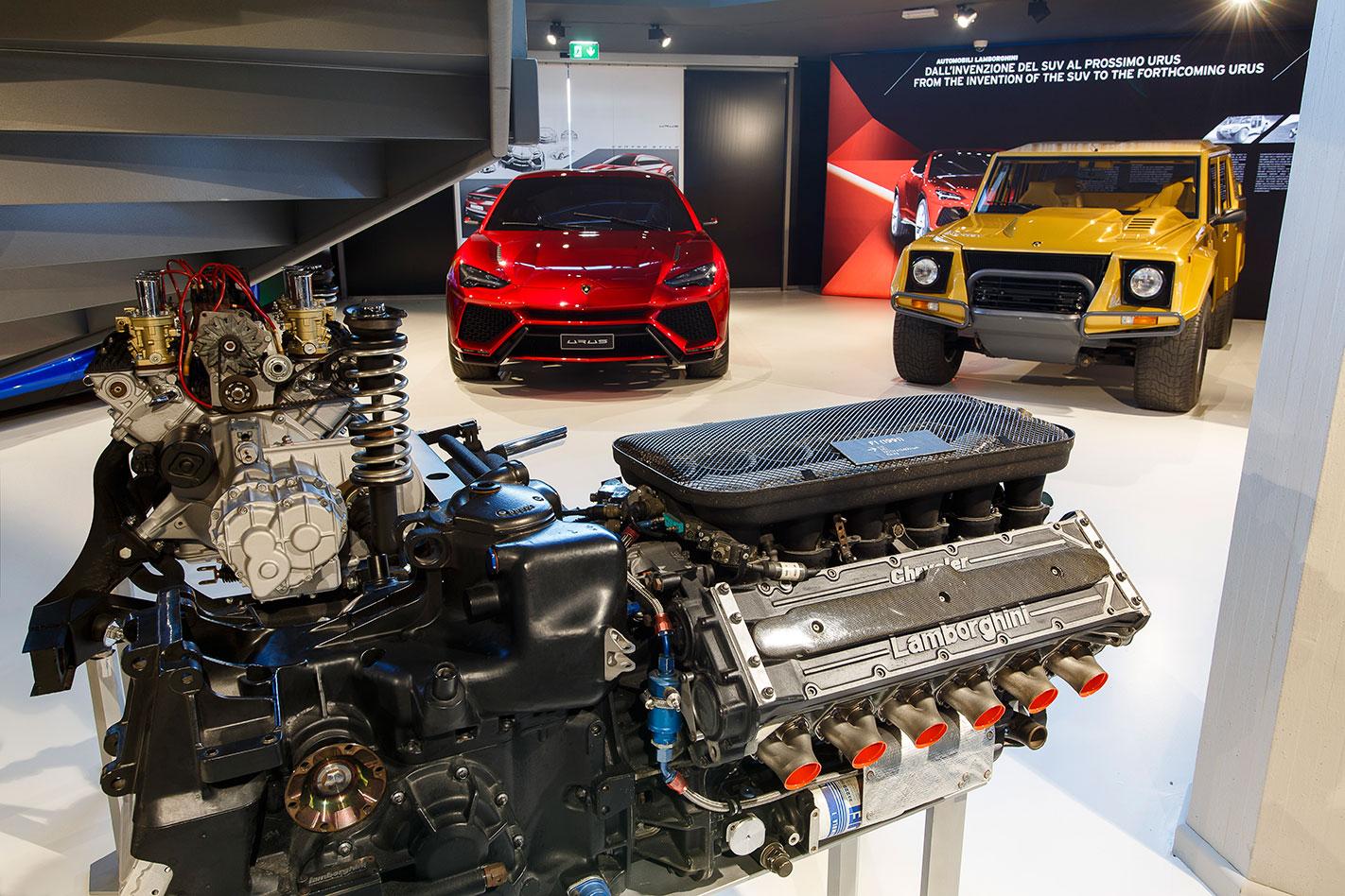 Lamborghini -SUVs -museum