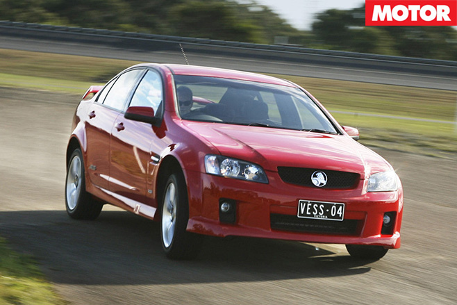 2010 Holden VE commodore