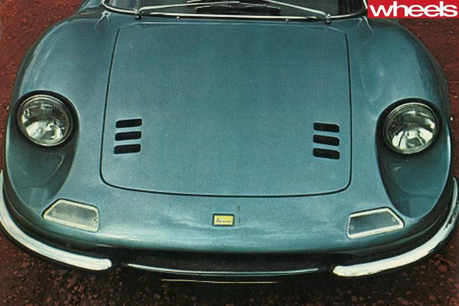 Ferrari -Dino -246-GT-front -nose