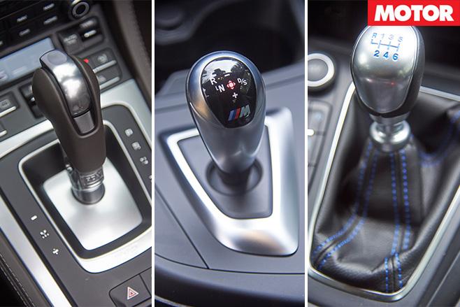Car gear shift boxes