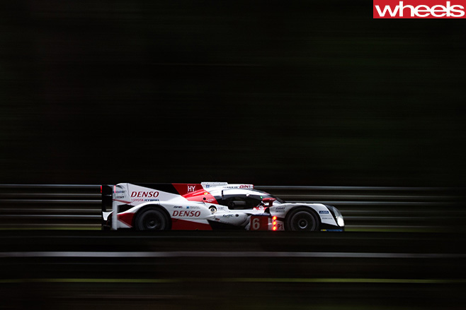 Toyota -Le -Mans -car -driving -side