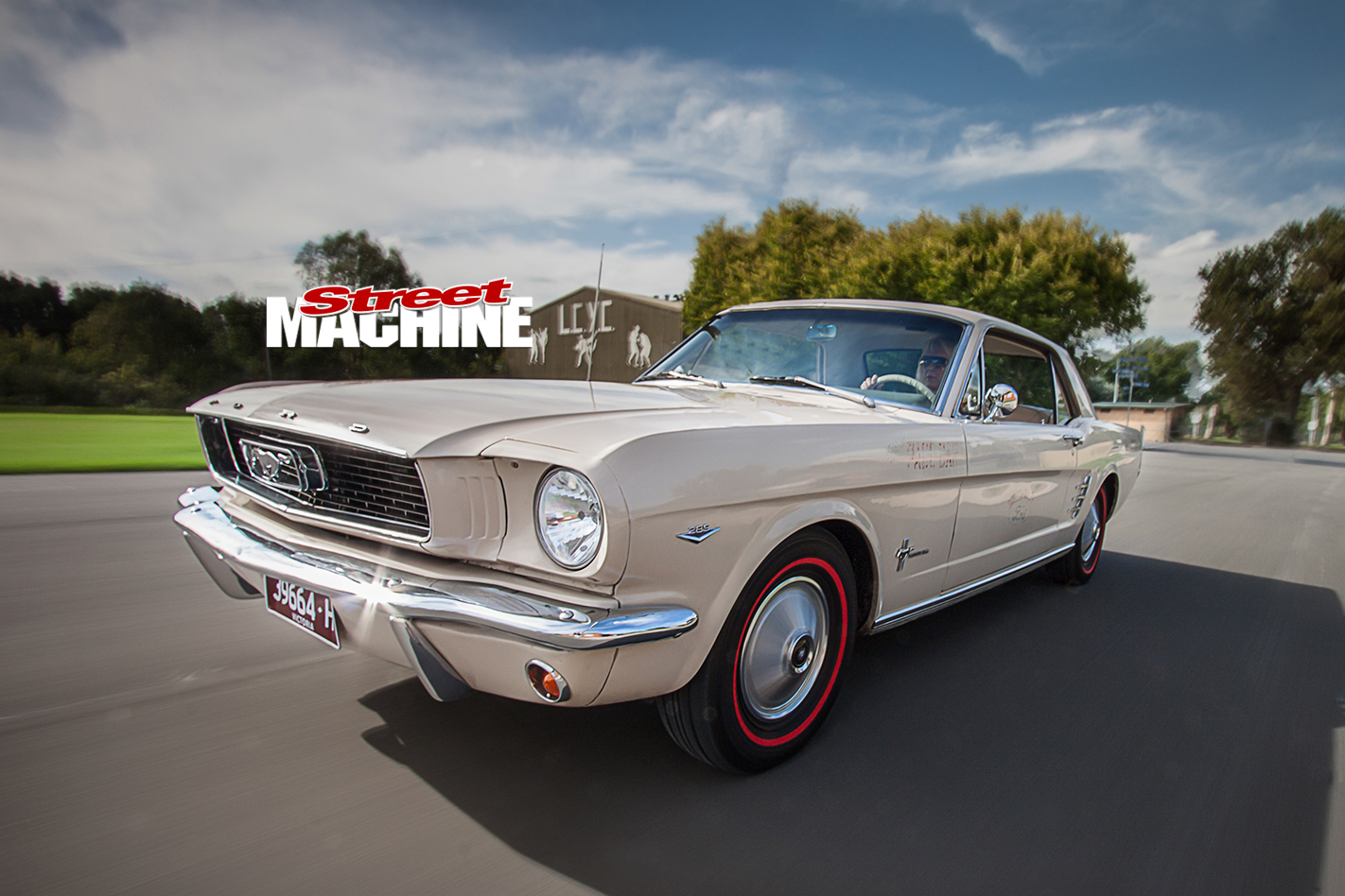 Nicole -Bridge -1966-Mustang -onroad