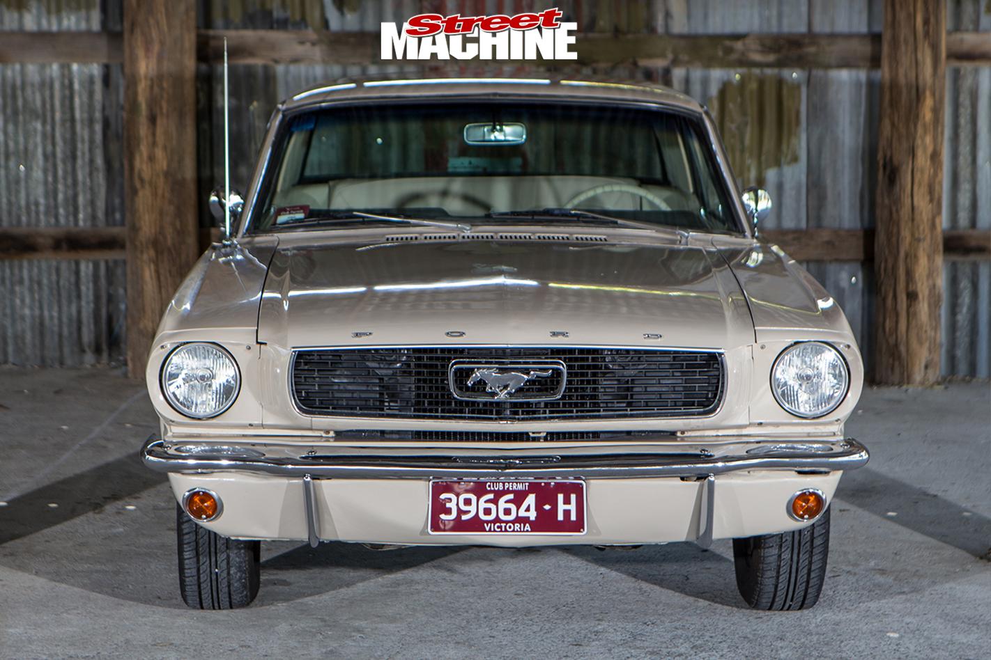 Nicole -Bridge -1966-Mustang -front