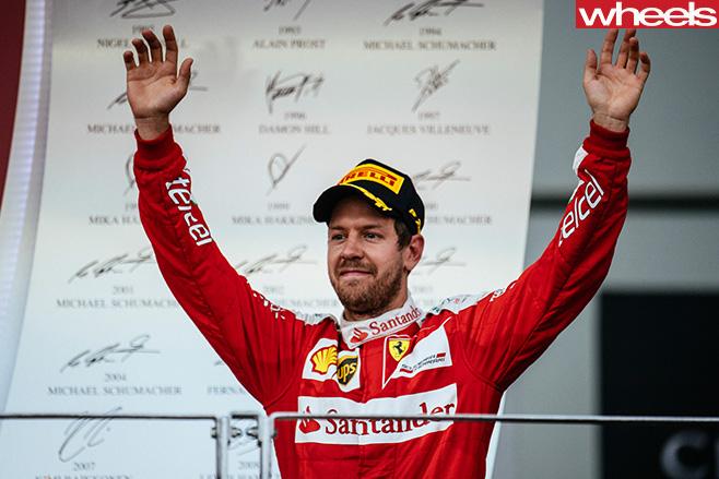 Sebastian -Vettel -Ferrari