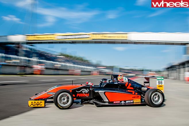 German -F4-race -car-
