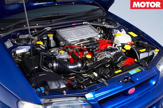 1999 Subaru WRX STi 22b engine