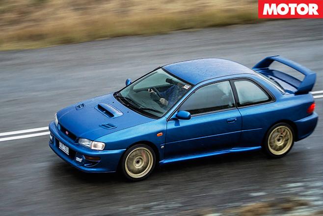 1999-Subaru WRX STi 22b top view