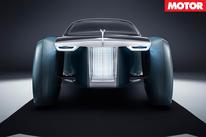 Rolls Royce Vision 100 concept front