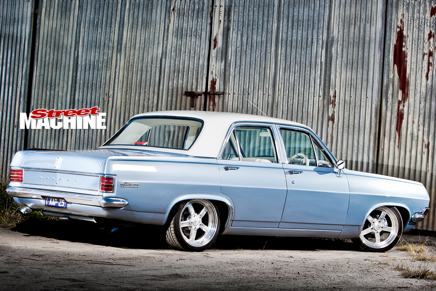 Holden -HD-rear -angle