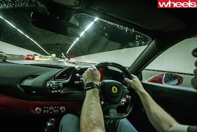Ferrari -488-GTB-interior