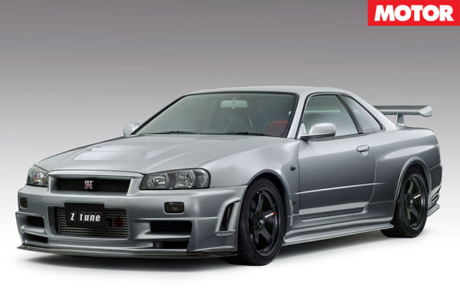 Nismo Nissan GT-R r34 z-tune