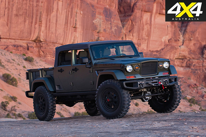 Jeep Crew Chief 715 Concept front