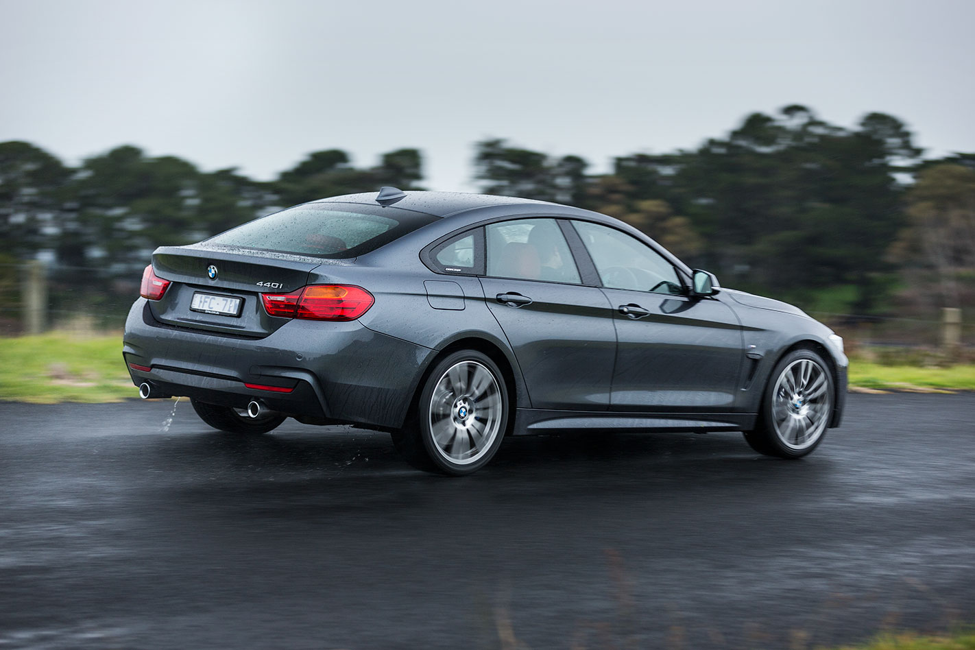 BMW 440i Gran Coupe rear'