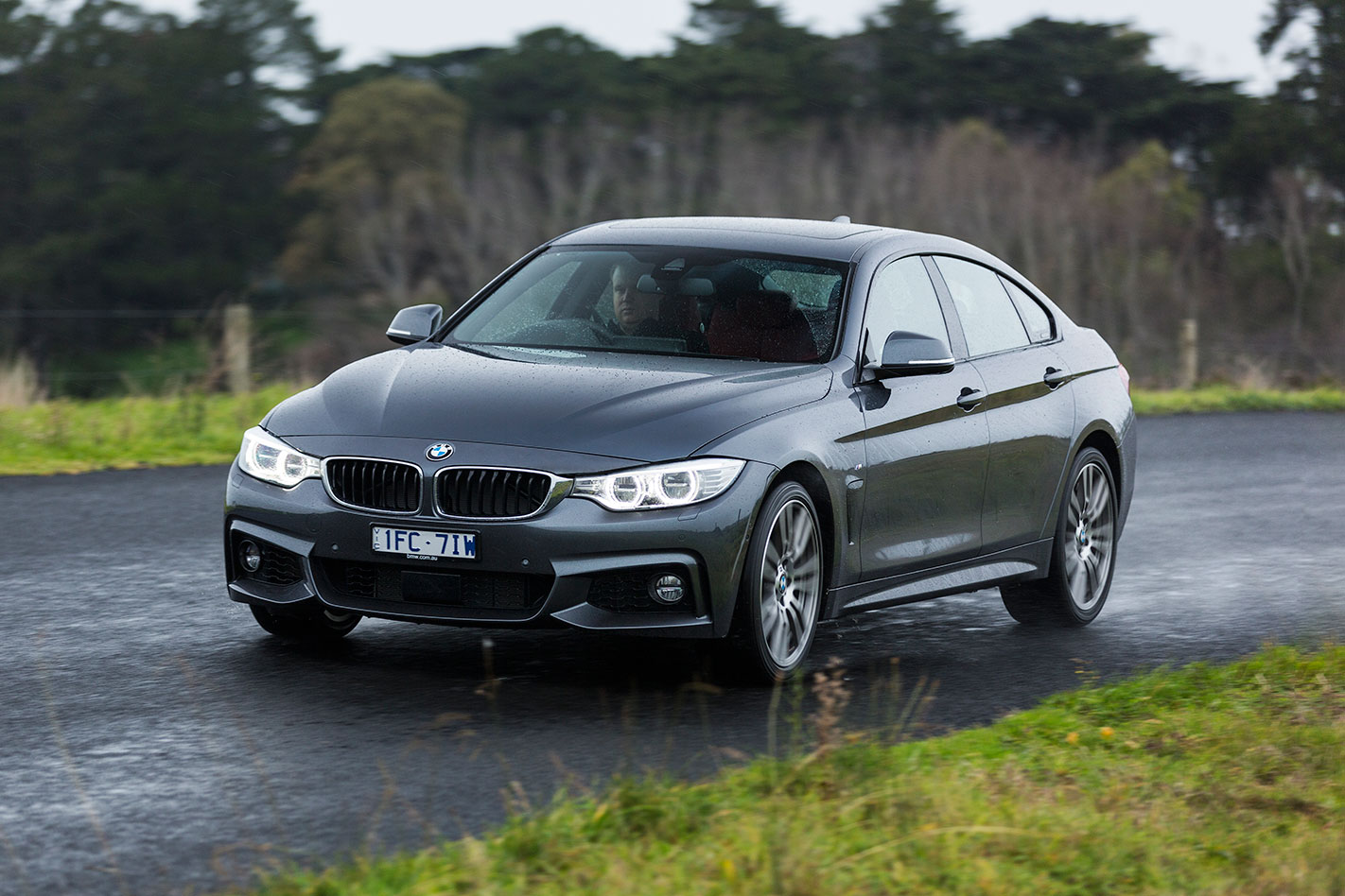 BMW 440i Gran Coupe driving