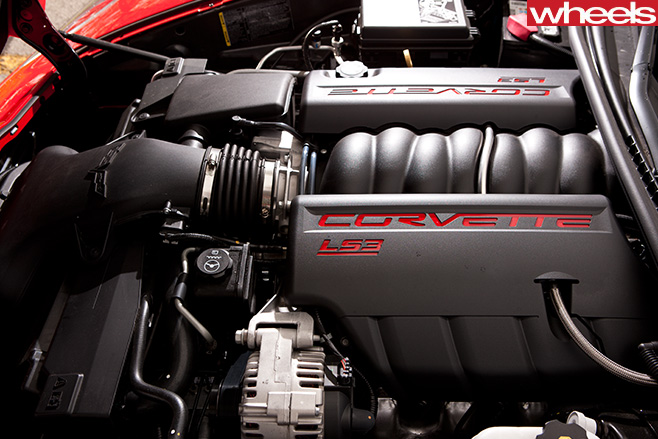 Chevrolet -Corvette -engine