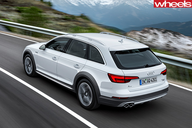 Audi -A4-Off -road -Quattro -rear -side -top