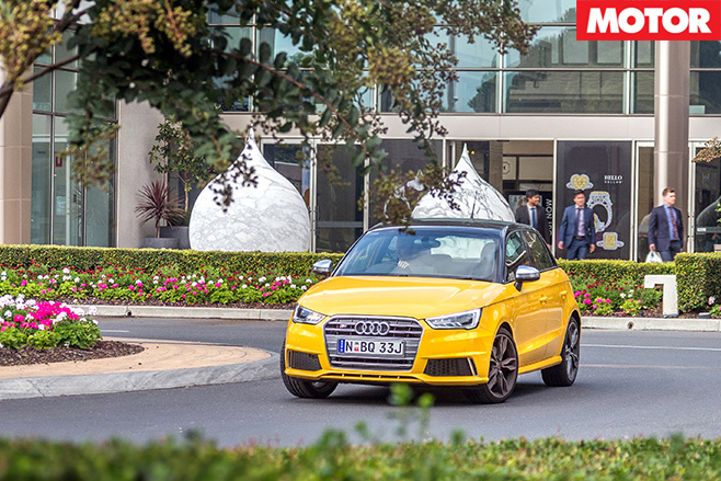 Audi s1 front driving