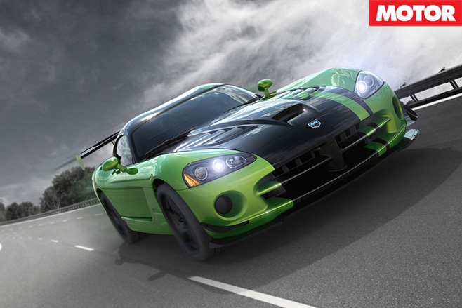 Dodge Viper Snakeskin edition