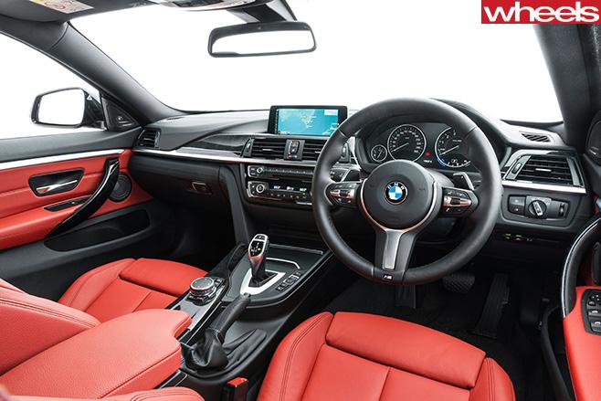 BMW-4-series -interior