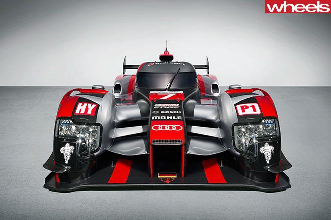 Audi -R18-LMP1-car -front