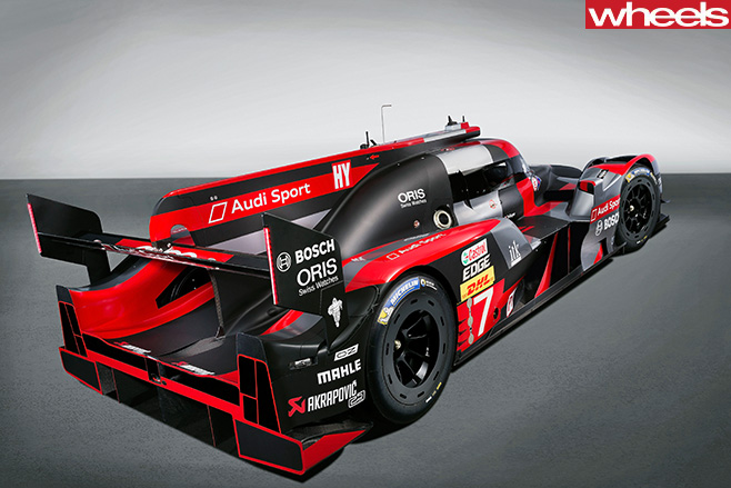 Audi -R18-LMP1-car -side -rear