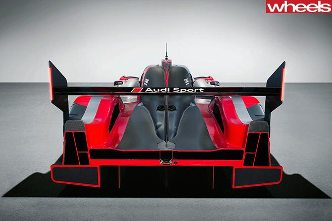 Audi -R18-LMP1-car -rear