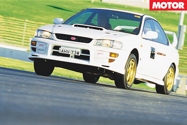Subaru -wrx -sti -front -driving