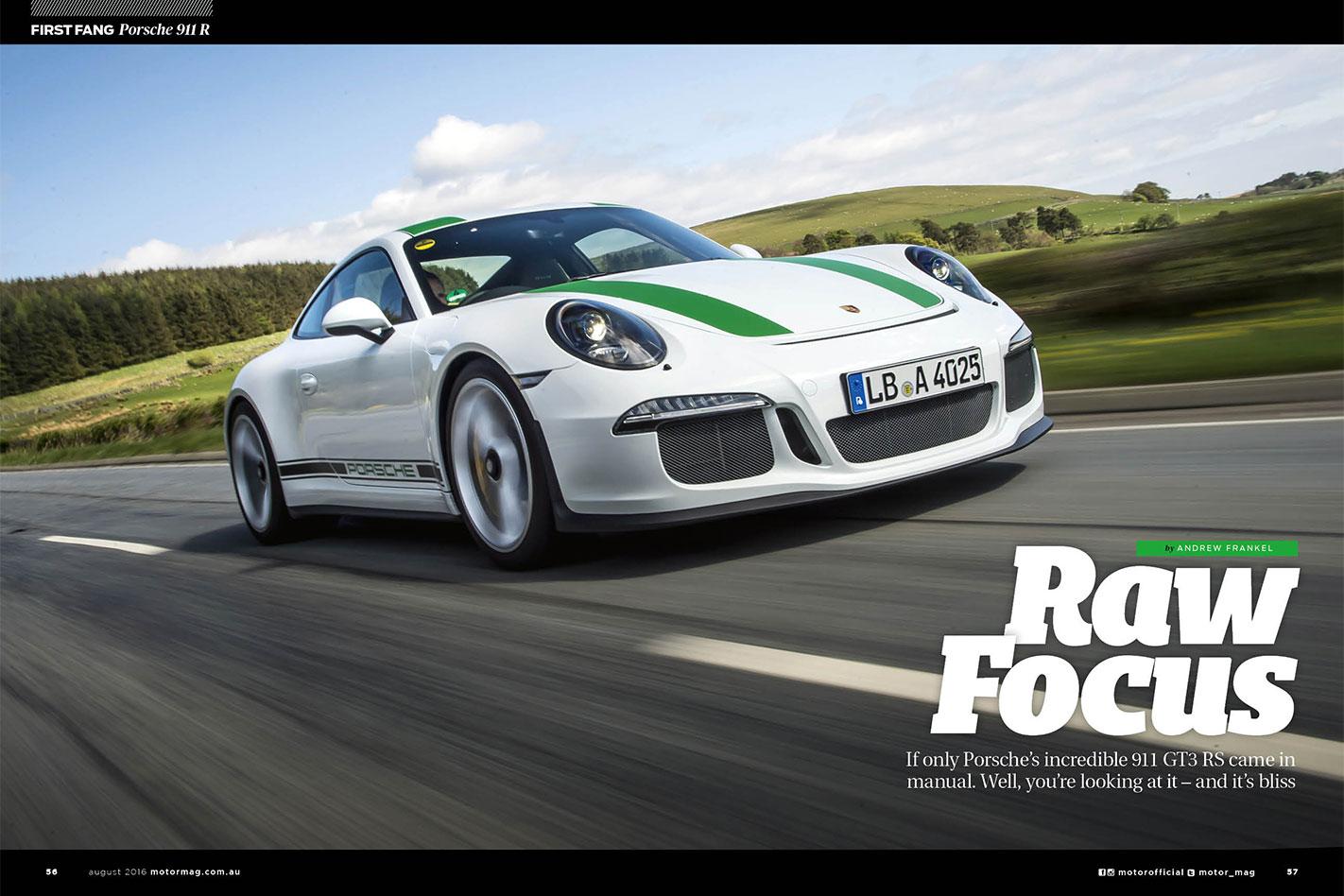 Porsche -911R