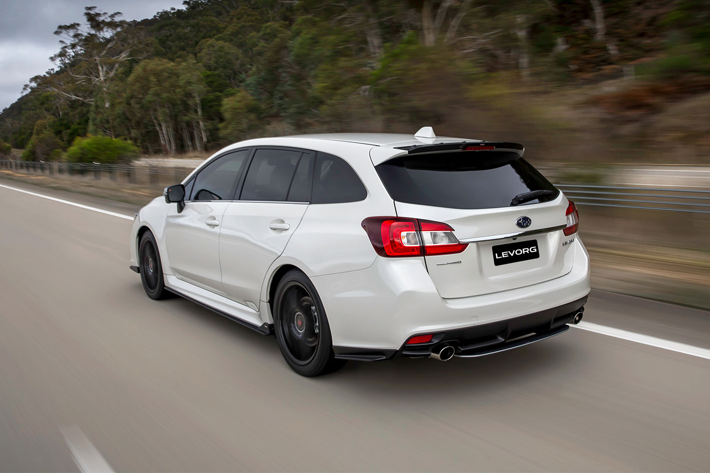 2017-Subaru -Levorg -GT-S-B-spec -rear -tracking