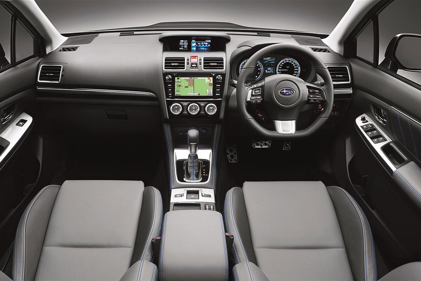 2017-Subaru -Levorg -GT-S-B-spec -interior